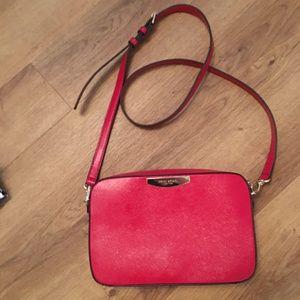 Henri Bendel Red Crossbody Bag - Like New
